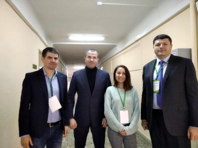 Руслан Соболь під час бізнес-форуму у КНЕУ