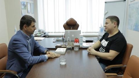 Руслан Соболь зустрівся з бенефіціаром «УКРАВТОНОМГАЗ»