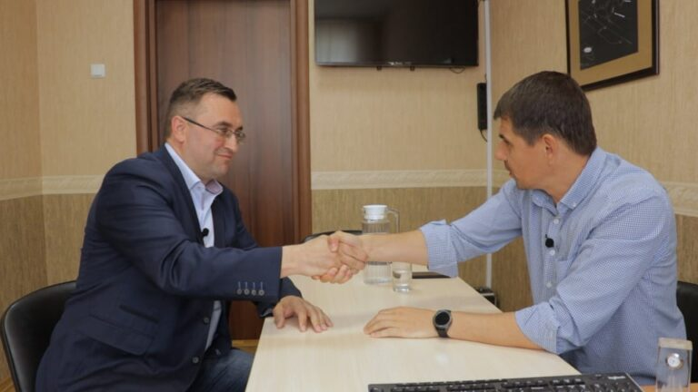 Руслан Соболь зустрівся з керівником  ПП «Ремводпласт Плюс»