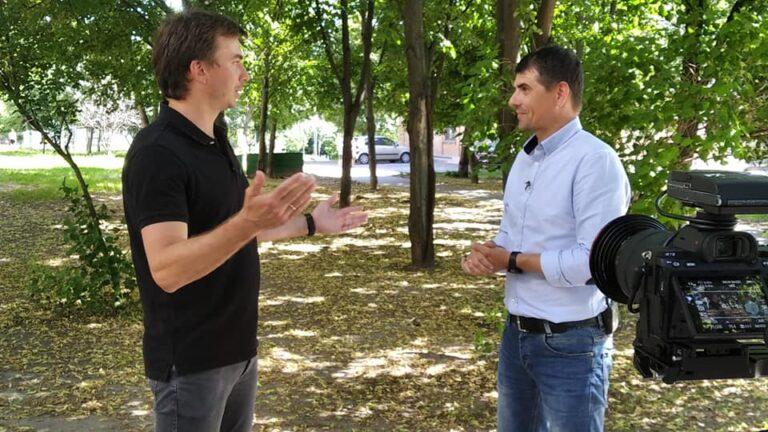 Руслан Соболь зустрівся з CEO & Founder в Netrocket Данилом Драмшевим